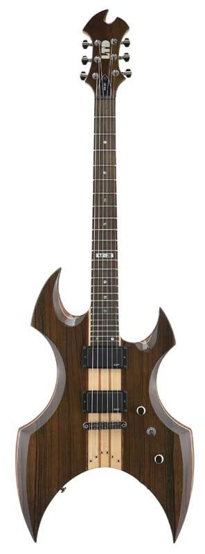 LTD AX-2E NG ELECTRIC EBONY TOP