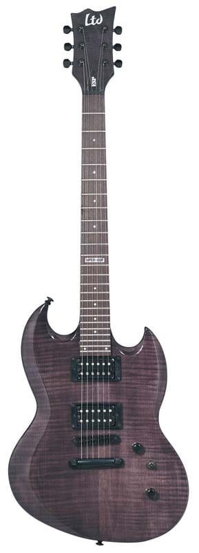 LVP-100FMSTBLK: LTD VP-100 FM STBLK VIPER FLAME TOP