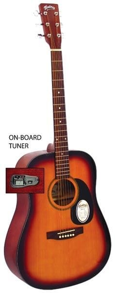DREADNOUGHT SIZE GTR SUNBURST