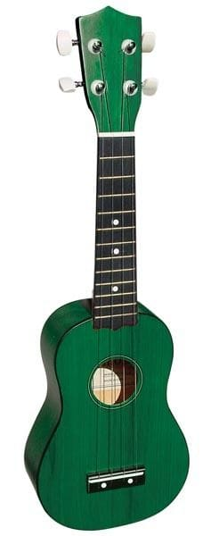 SOPRANO UKULELE IN GREEN FINISH