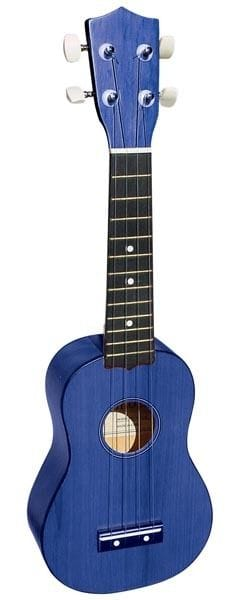 SOPRANO UKULELE IN BLUE FINISH