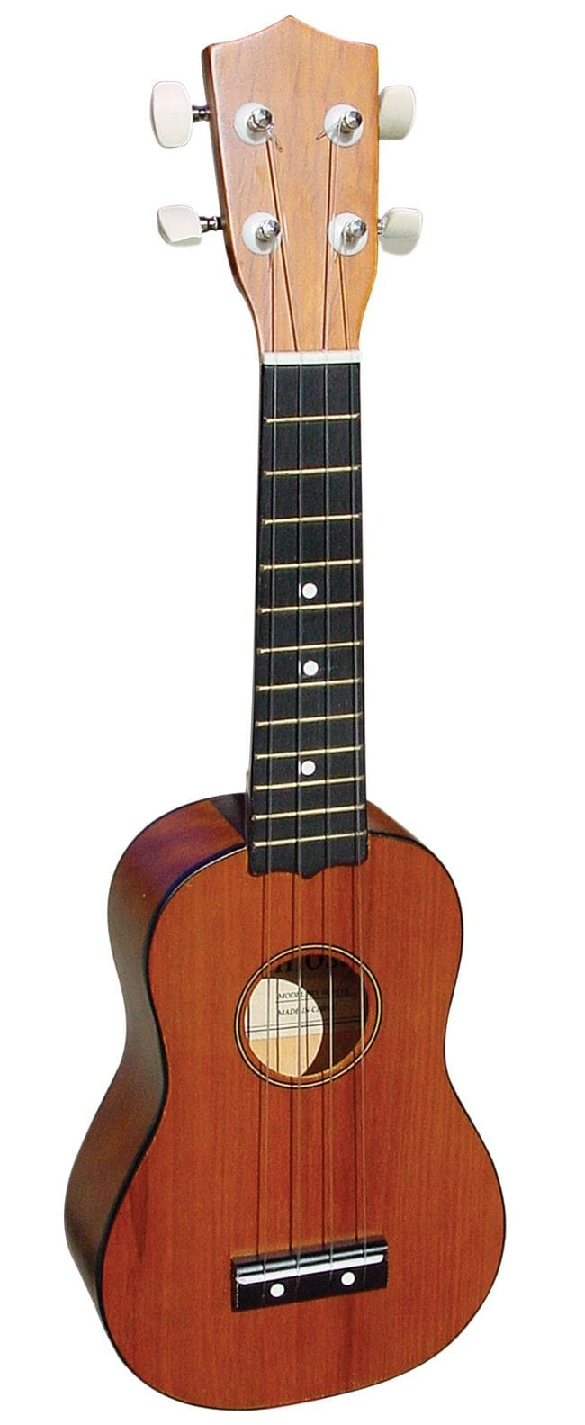SOPRANO UKULELE IN NAT MAHOGANY FINISH