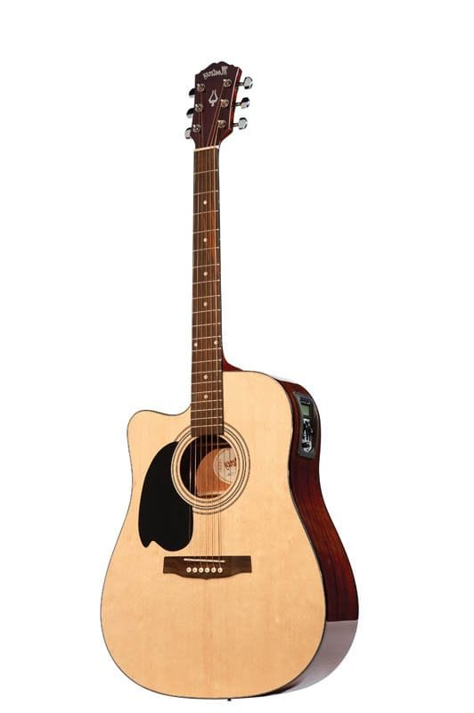 ACOUSTIC/ELECTRIC GTR NATURAL LEFT HAND