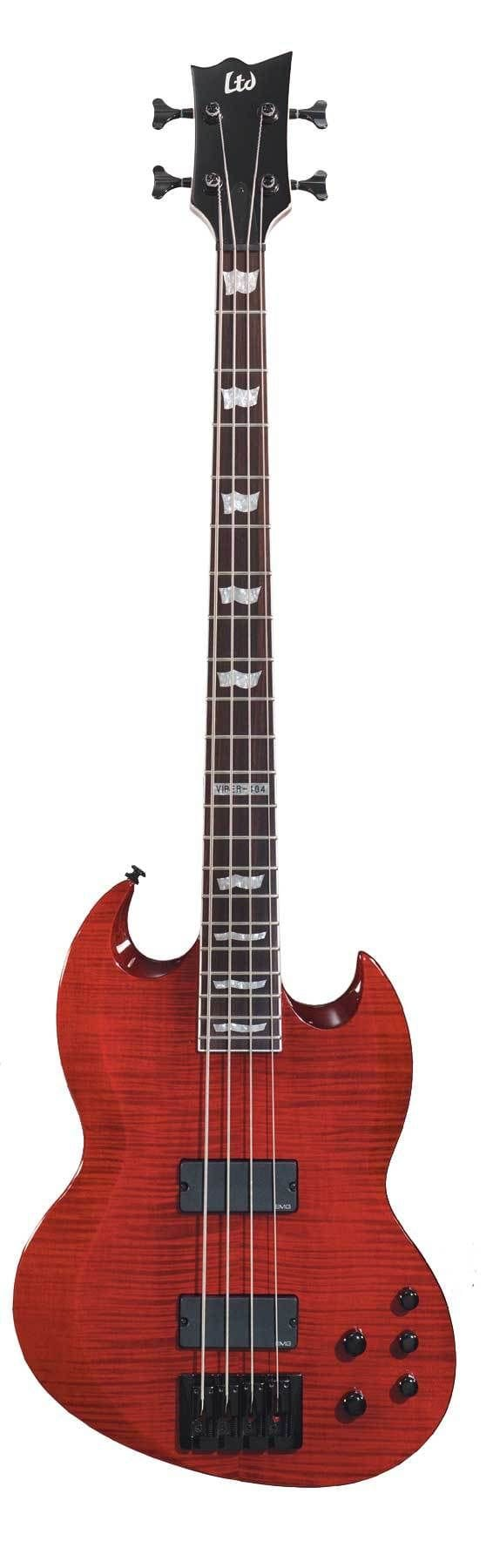 LTD VP-404 STBC VIPER BASS FLAME TOP