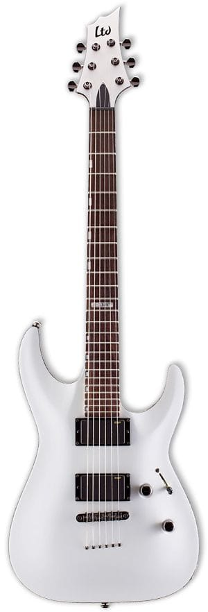 LTD H SERIES NO TREM EMG PICKUPS WHITE