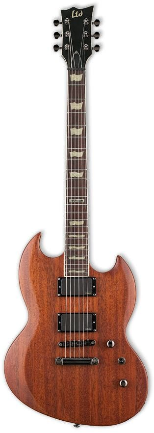 LTD VP-300 M VINT BROWN SATIN VIPER EMGS