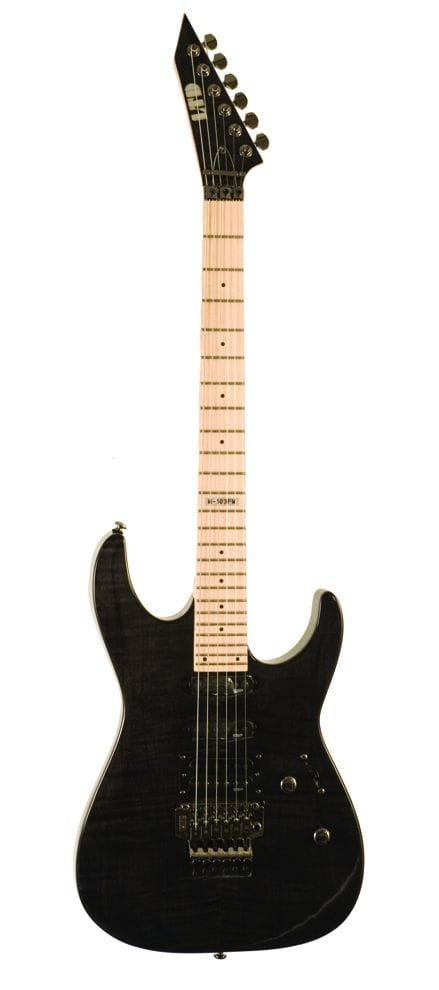 LTD M-103 FM STBLK FLAME THRU BLACK