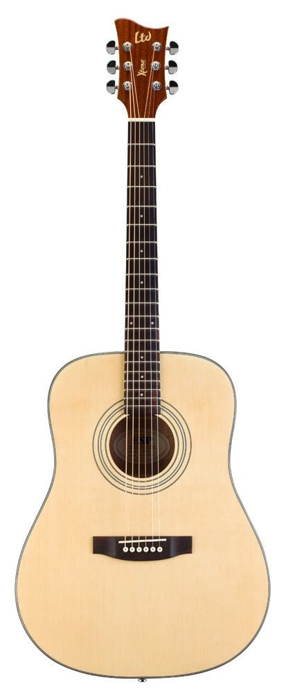 LTD X-TONE DREADNOUGHT ACOUSTIC - NATURAL