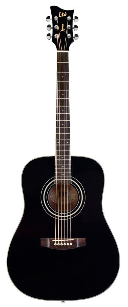 LTD X-TONE DREADNOUGHT ACOUSTIC - BLACK