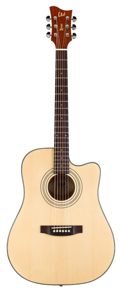 LTD X-TONE DREADNOUGHT AC/ELEC - NATURAL