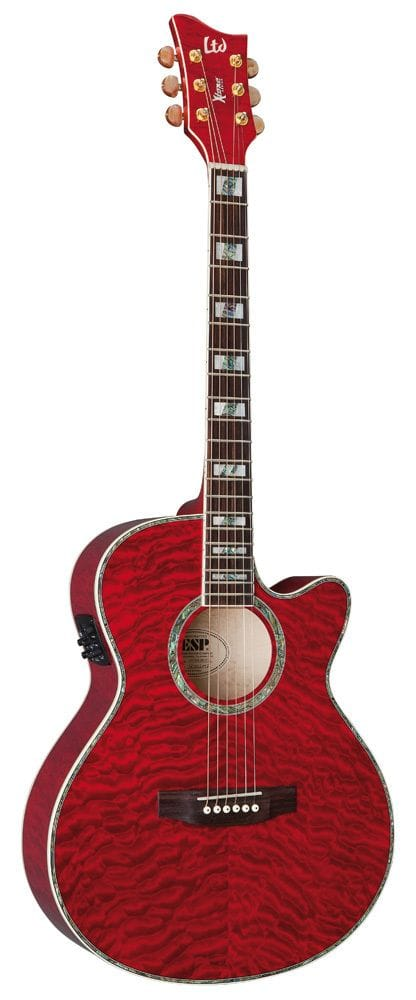 LTD X-TONE ACC/ELEC QM SEE THRU RED