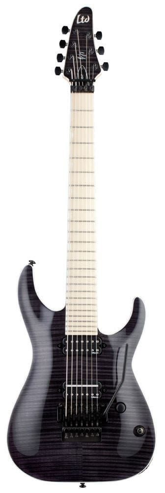 LBS-7STBLK: LTD BS-7 BEN SAVAGE SIGNATURE 7 STRING STBLK