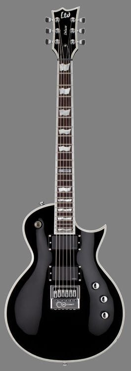 LTD EC-1000ET ECLIPSE W/ EVERTUNE BRIDGE BLACK