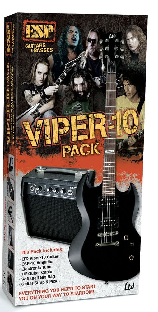 LTD VIPER GUITAR & AMP BEGINNER PACK