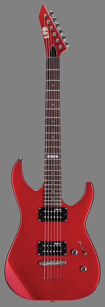 LM-10KITCAR: LTD M-10 ELEC GUITAR WITH GIGBAG CANDY APPLE RED