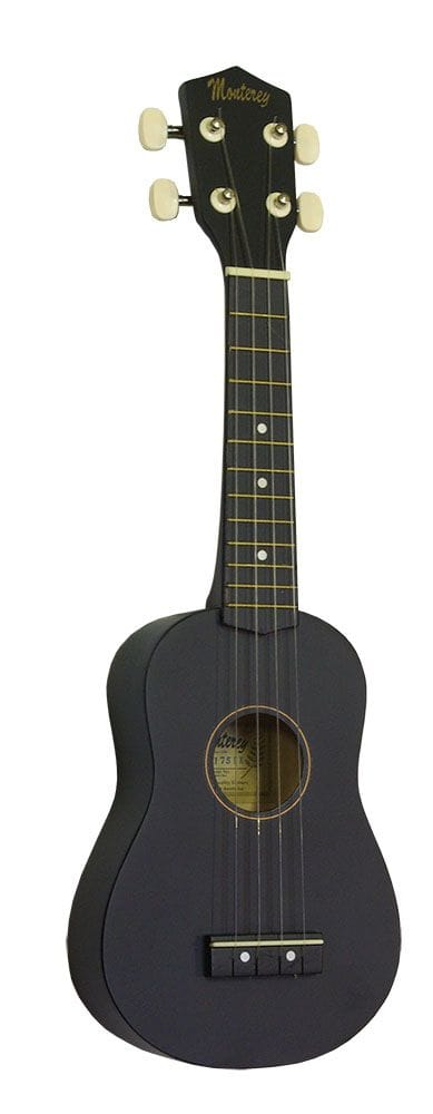 SOPRANO UKELELE IN MATT BLACK FINISH