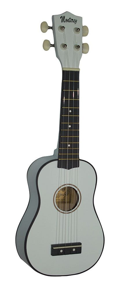 SOPRANO UKULELE IN WHITE GLOSS FINISH