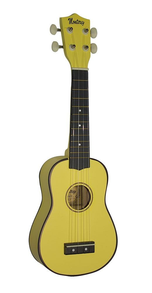 SOPRANO UKULELE IN YELLOW GLOSS FINISH