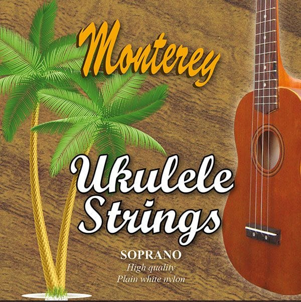 SOPRANO WHITE UKULELE STRING SET