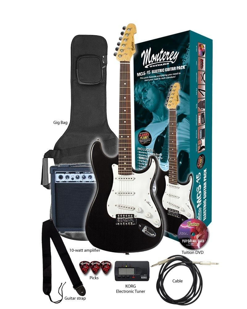 ELECTRIC GUITAR & AMP PACK WITH GIGBAG & ACCES