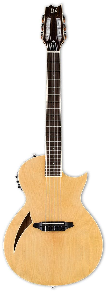 LTL-6NNAT: LTD TL-6 NYLON THINLINE  ACOUSTIC NATURAL