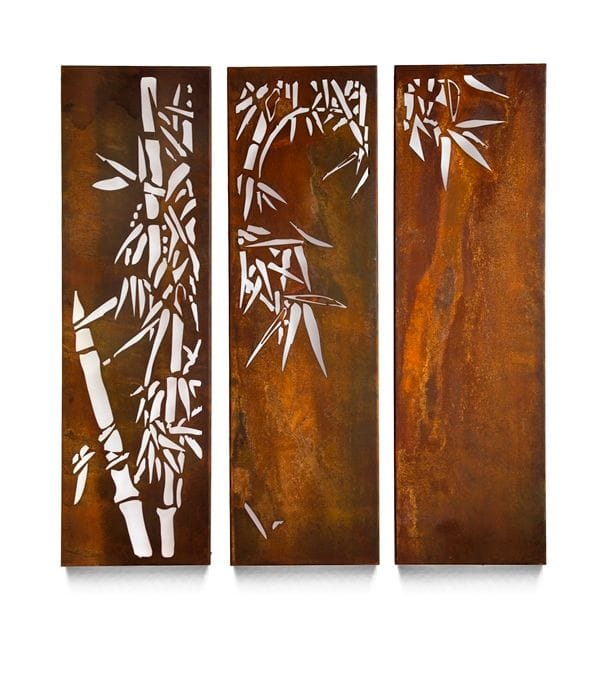 Bamboo Triple Panels