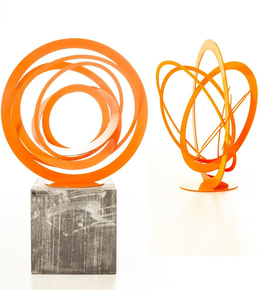 Sphere Sculpture (orange)