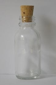 Glass Mini Bottle   50ml
