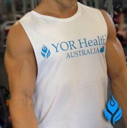 YOR Health Tank Tee