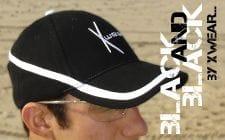 XWear Black & Black Cap
