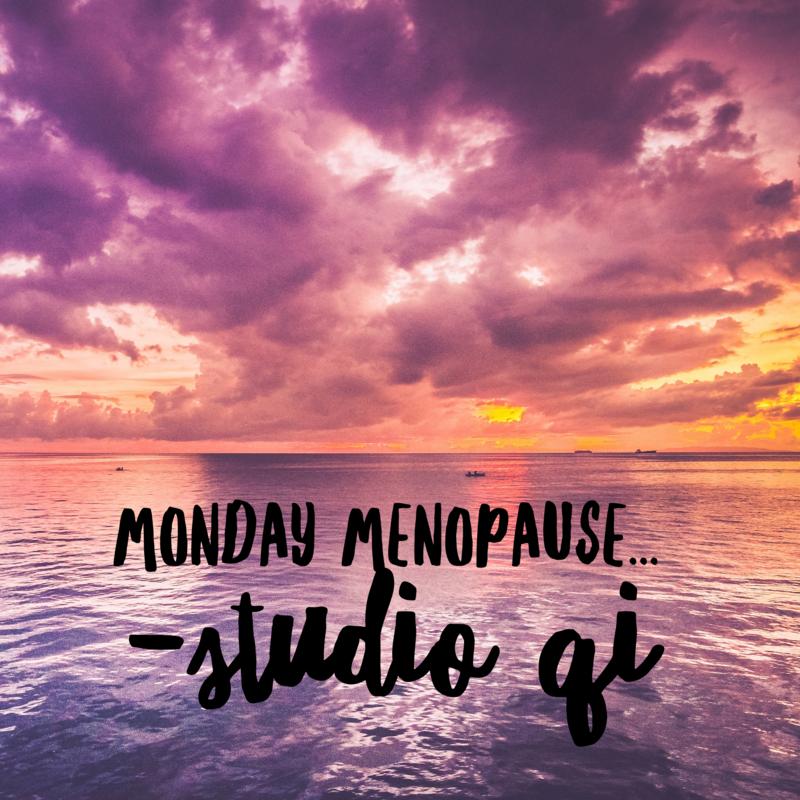 Menopause explained Chinese Medicine Style...