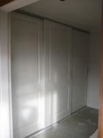 Colonial 2 panel sliding doors