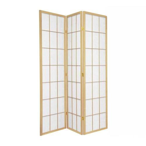 Natural Shoji 3 Fold Room Divider 132cm wide