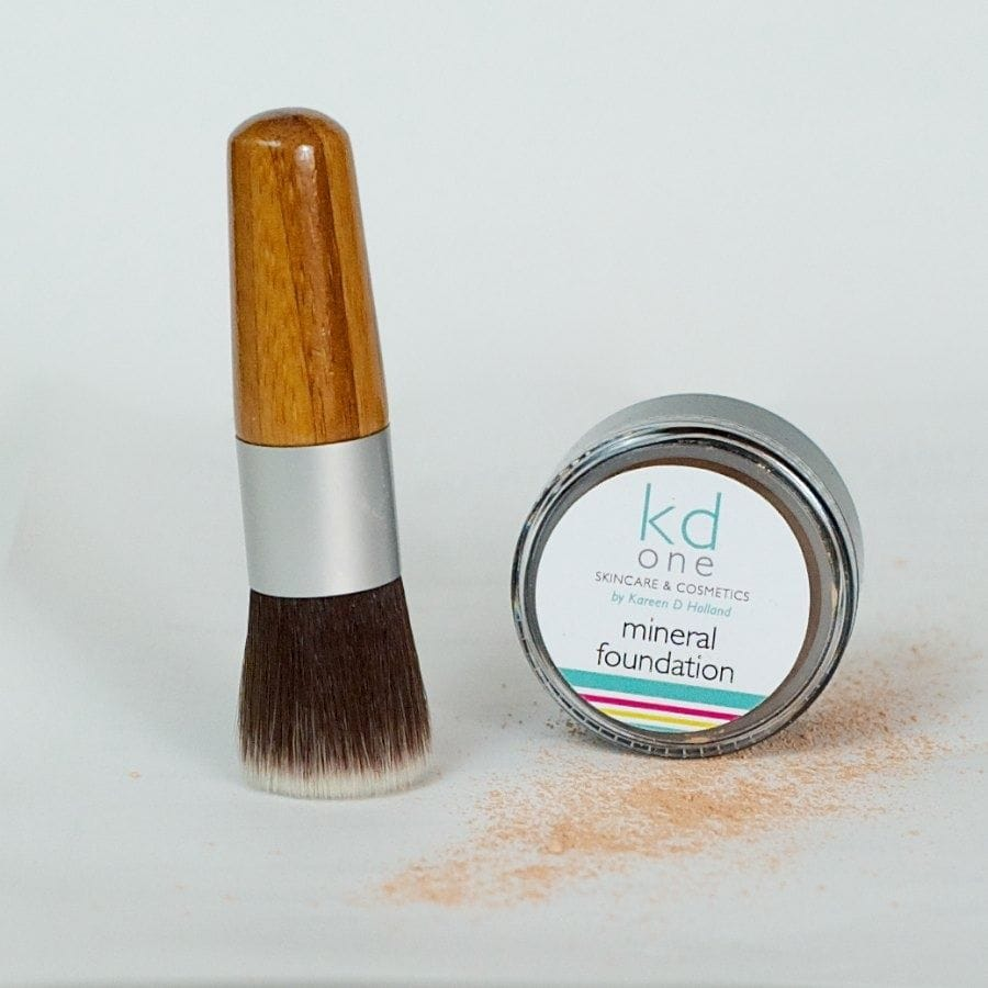 Foundation Brush $15 when purchasing mineral foundation