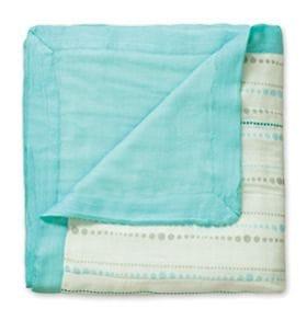 Aden + Anais - Bamboo Dream Blanket - Azure