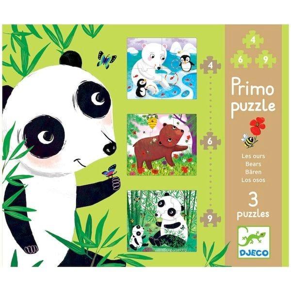 DJECO - Bears Wooden Puzzle