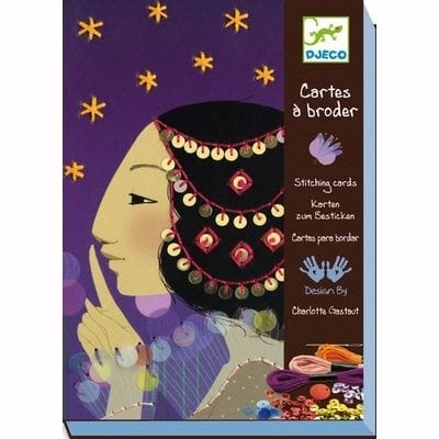 DJECO - 1001 Nights Stitching Cards