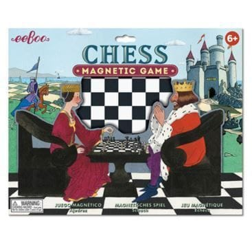 eeBoo - Magnetic Game - Chess