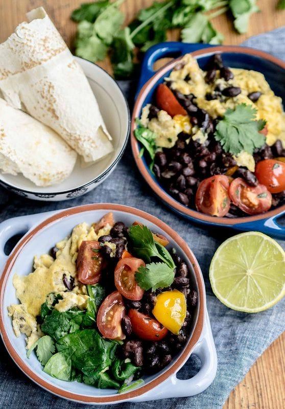 Brekky Burrito Bowls