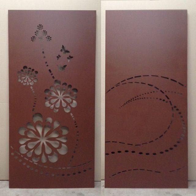 Corten Steel Panels & Screens