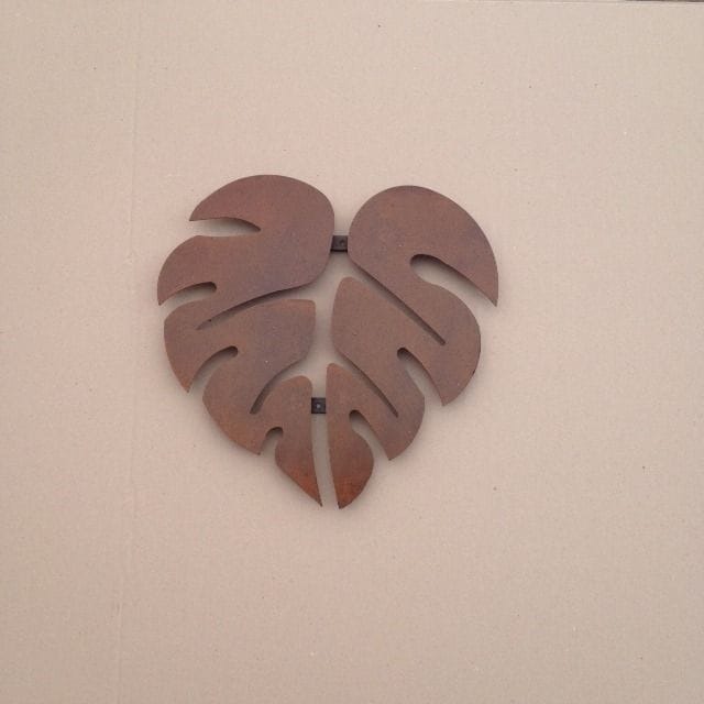 Philodendron Leaf Deco
