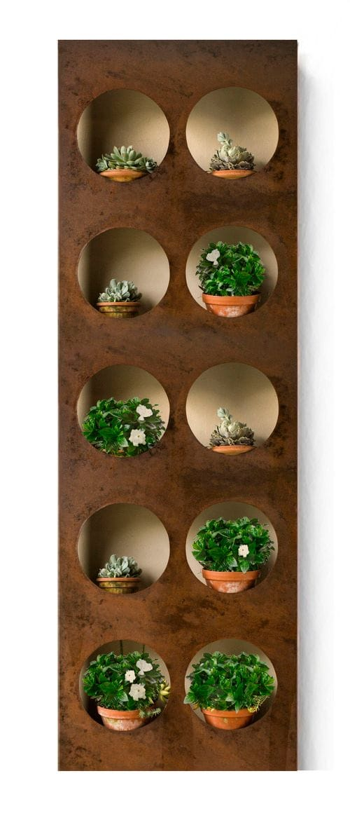 Porthole Vertical Wall Garden
