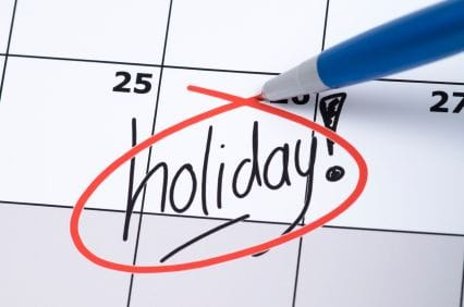 HR Highlight: Public holidays reminder