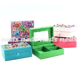Jewellery Box with Bling - 10cm