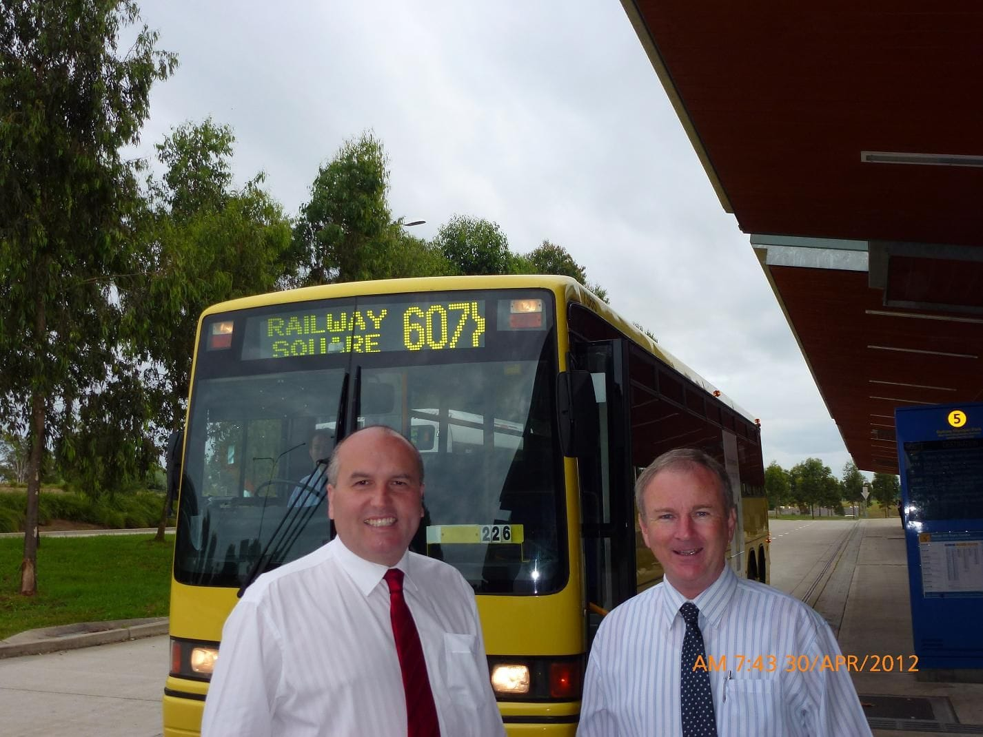 NEW BUS ROUTE FROM ROUSE HILL TO CITY COMMENCES
