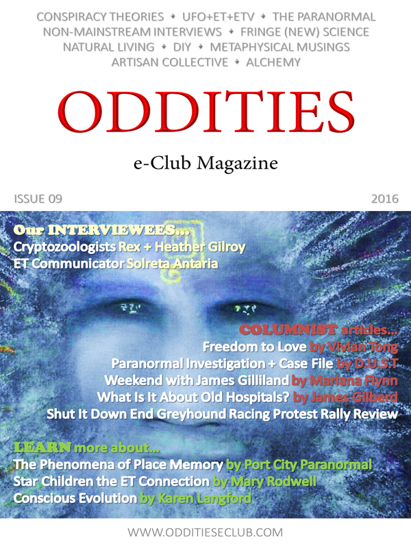 Issue 09 of the Oddities e-Club Magazine OUT TODAY!