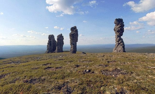 Shamanism Site: Ural Mountains