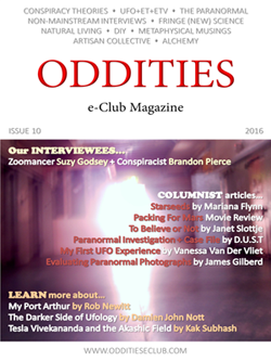 Issue 10 of the Oddities e-Club Magazine OUT TODAY!
