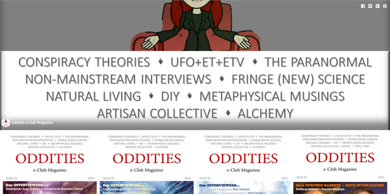 Read the Oddities e-Club Magazine from your PC!