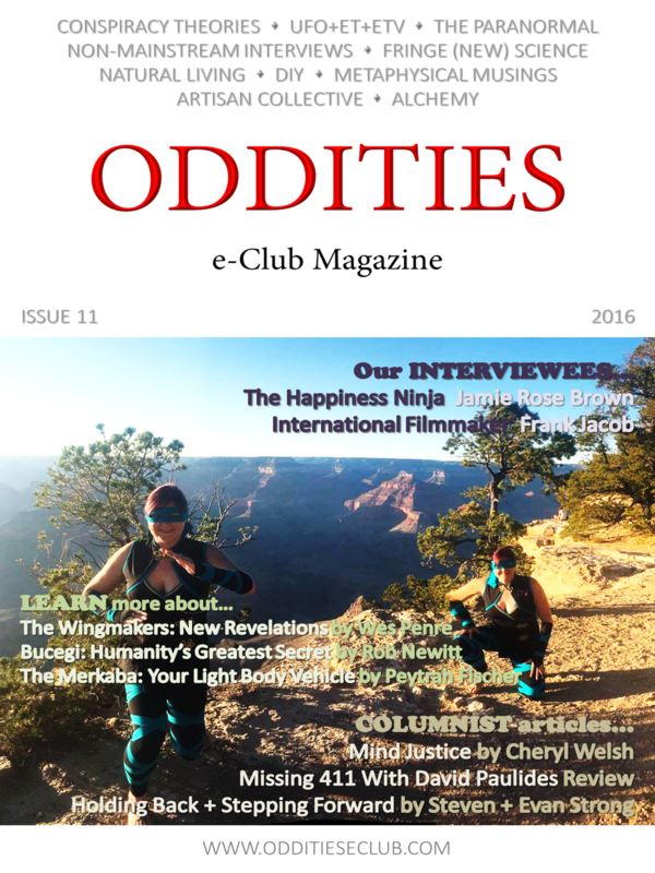 Issue 11 of the Oddities e-Club Magazine OUT TODAY!